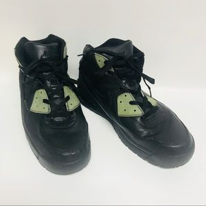 Nike Air Max sneakers lace up blk/gen sz13 Goadome
